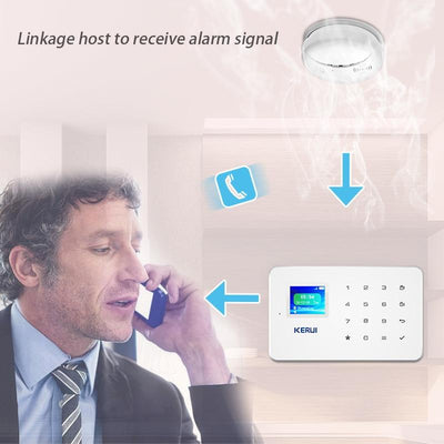 Wireless Fire Alarm Detector -