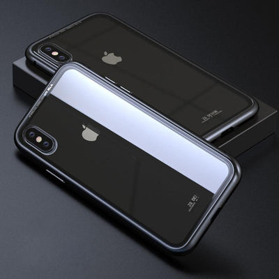 Durable Magnetic Flip Case -