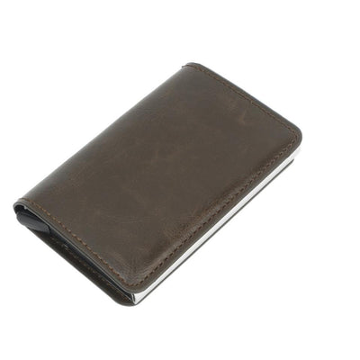 Antitheft Tactical Leather Wallet -