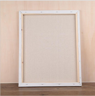 Canvas Painting Wooden Frame