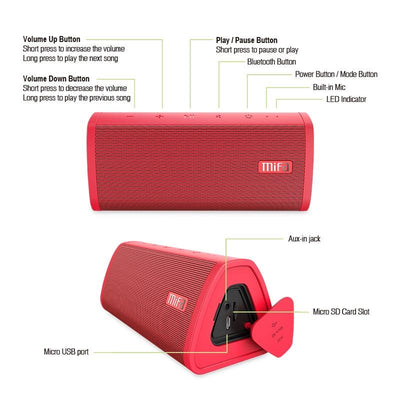 Portable Wireless Bluetooth Speaker -