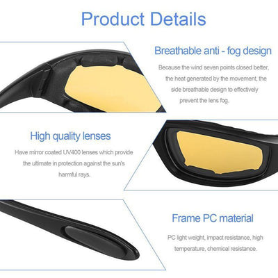 Anti-Glare Motorcycle Glasses -
