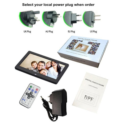 HD Digital Photo Frame LED Backlit -