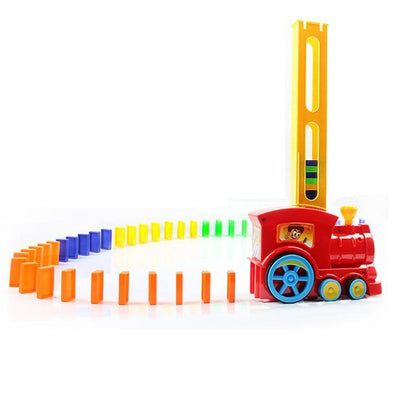 Domino Laying Toy Train -
