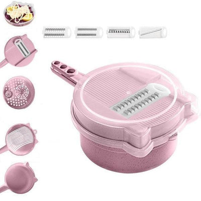 9-in-1 Multi-Function Easy Food Chopper -