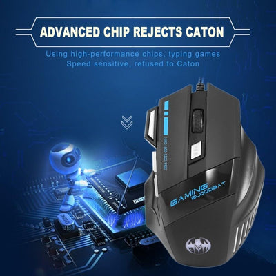 Optical USB 7 Button Gaming Mouse -