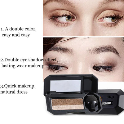 Double Color Eyeshadow Palette -