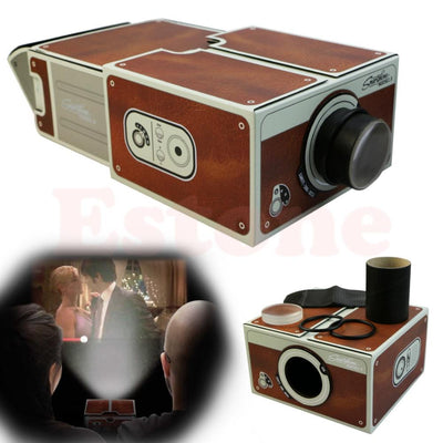 DIY Cardboard Cinema -