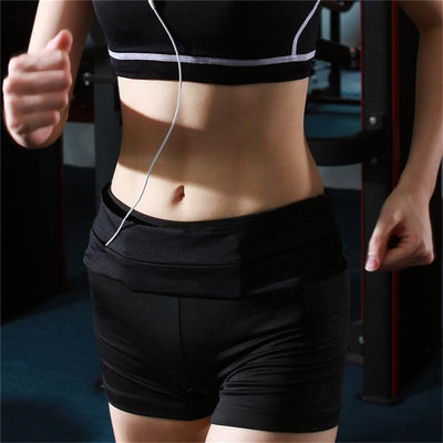 Running Waist Belt - Black S
