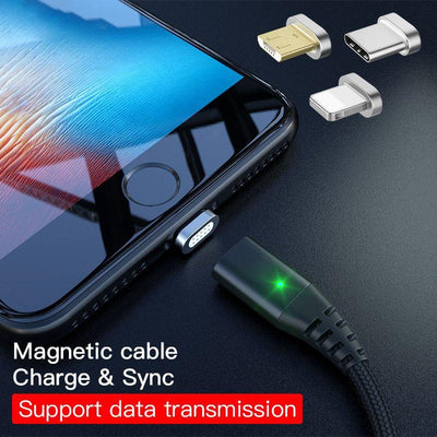 Magnetic Adsorption Data Cable -