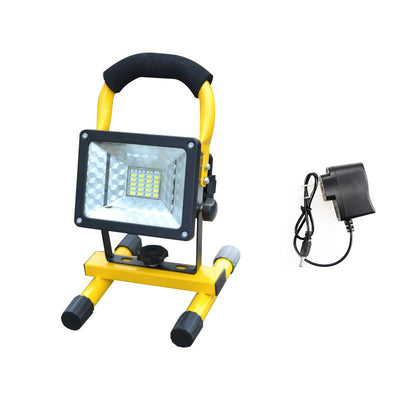Rechargeable LED Work Light - No Battery / Charger US Plug
