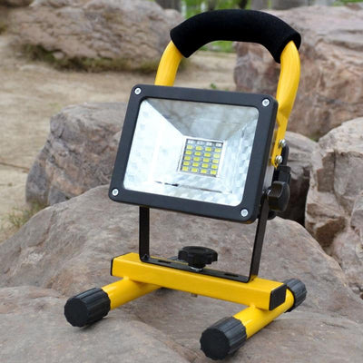 Rechargeable LED Work Light - No Battery / Charger EU Plug