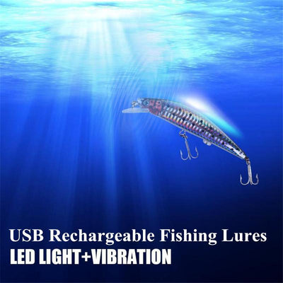 Rechargeable Twitching Fish Lure -