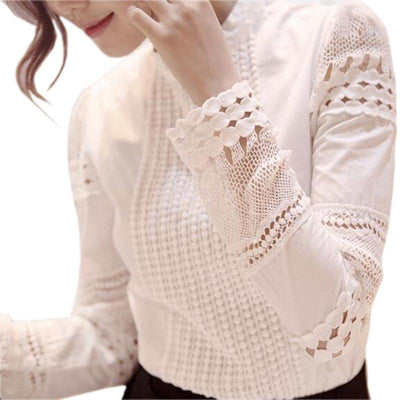 Autumn Women's Long-sleeved Blouse -