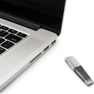 Lightning Connector + USB 3.0 Flash Drive -