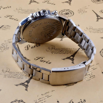 Stainless Steel Band Analog Watch -