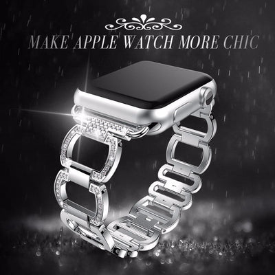 38mm/42mm  Rhinestone Diamond Apple Watch Band -