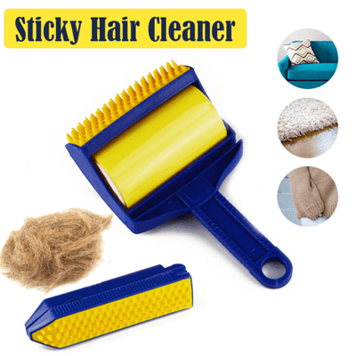 Sticky Rolling Dirt Cleaner -