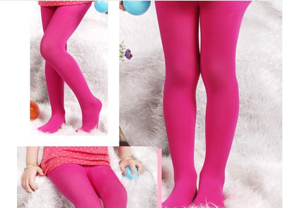 Girls Cotton Pantyhose -
