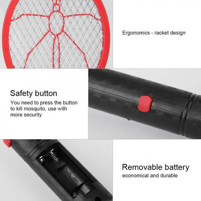 Electric Fly Mosquito Swatter -