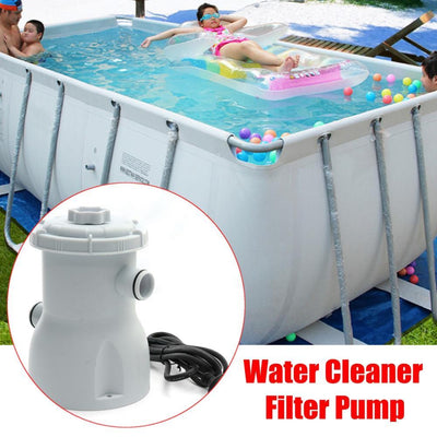 220V Inflatable Pool Filter Pump System -