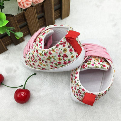 Soft Soled Toddler Crib Shoes -