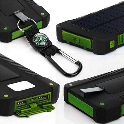 Solar Powerbank Battery Charger -