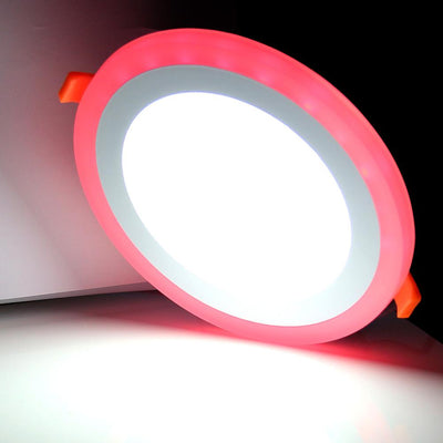 Ultra Slim Dual Color LED Panel Lights -