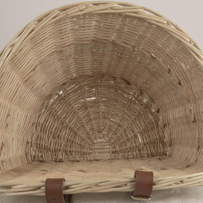 Front Wicker Bicycle Basket -
