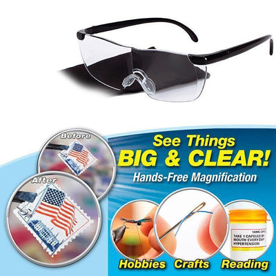 Limited Time Buy 1 Get 1 160% Magnification Presbyopic Glasses Eyewear -