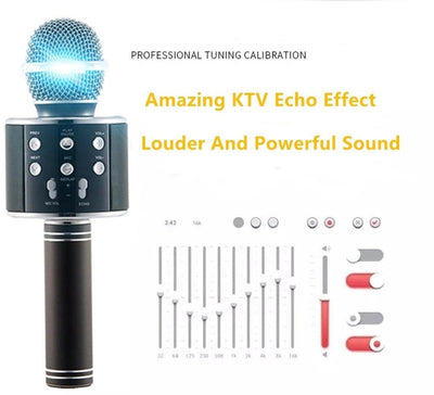 Wireless Bluetooth Karaoke Microphone -