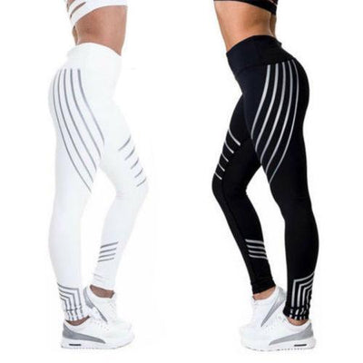 Rainbow Reflective Leggings for Women -