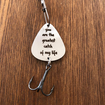 You are My Greatest Catch Pendant -