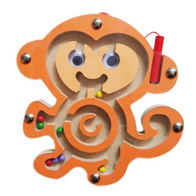 Animals Marble Maze - Monkey