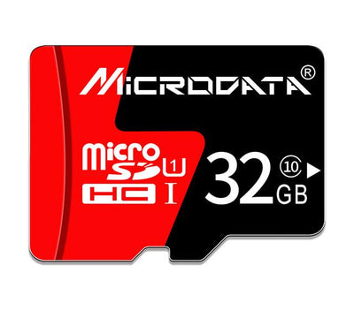 Hi-Speed MicroSD Memory Card - 32GB Class10
