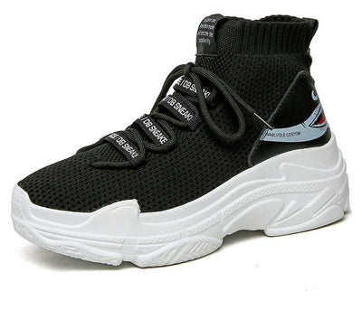 Sports Sneaker Shoes - Black / 38