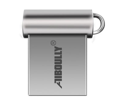 Mini USB Flash Drive - 4GB / Silver
