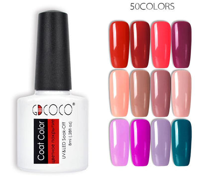 Gorgeous Nail Varnishes Gel -