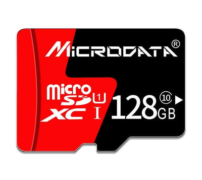 Hi-Speed MicroSD Memory Card - 128GB Class10