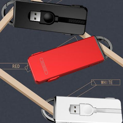 3-in-1 Keychain USB Cable -