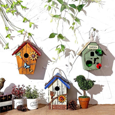 Wooden Bird House -