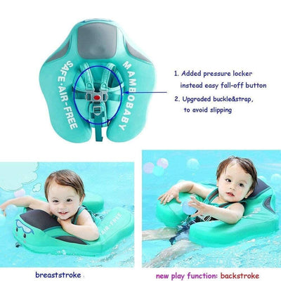 Solid Baby Swimming Ring -