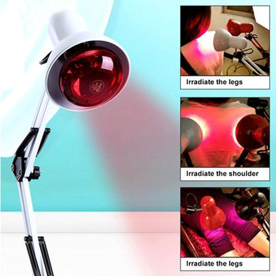 Infrared Therapeutic Pain Relief Heat Lamp -