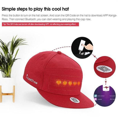 Cool LED Display Cap -