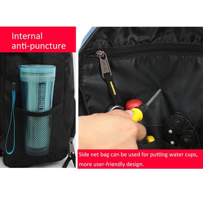 Electrician Backpack Tool Bag -