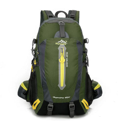 Waterproof Climbing Camping Hiking Trekking Backpack Rucksack 40L - Army Green 40L