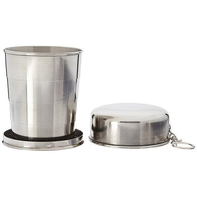 Stainless Steel Portable Travel Camping Cups Folding Cup Telescopic Collapsible Cup
