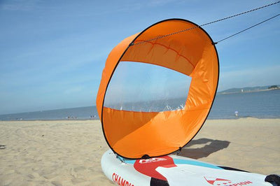 Kayak Boat Wind Sail - Orange