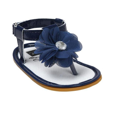 Princess Slippers for Babies - Deep Blue / 1