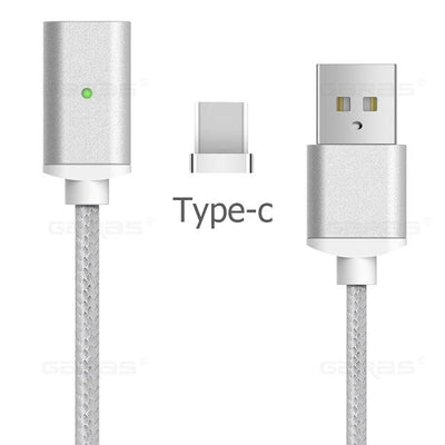 Lightning Cable - Type-C Cable / Silver / 1m
